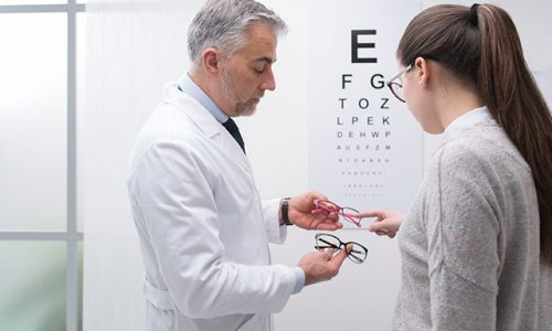 Chew's Optics our services eye check up Singapore