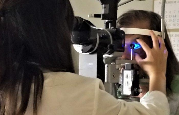 eye examination teck whye